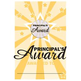 Pin Card with Pin Set - Principal's Award