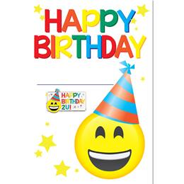 Pin Card with Pin Set - Happy Birthday