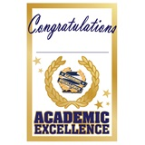 Pin Card with Pin Set - Academic Excellence