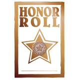 Pin Card with Pin Set - Honor Roll/Gold