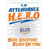 Pin Card with Pin Set - H.E.R.O. Attendance