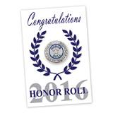 Pin Card - Honor Roll 2016