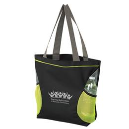 Mesh Accents Tote Bag