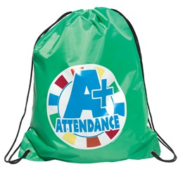 Full-color Backpack - A+ Attendance