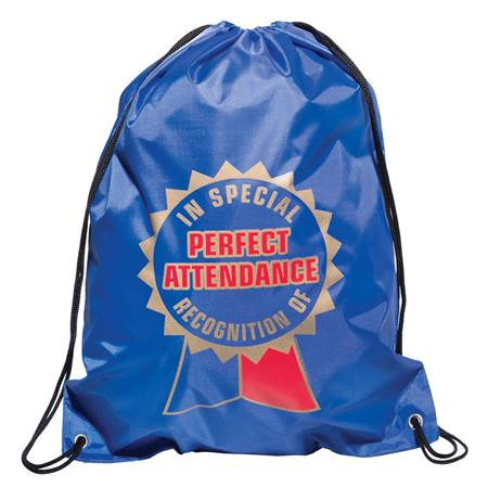 Full-color Backpack - Perfect Attendance Ribbon