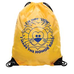 Award Backpack - Honor Roll Lion
