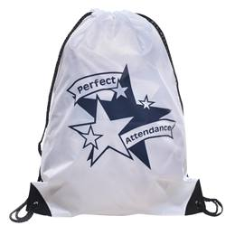 Award Backpack - Perfect Attendance Stars