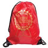 Award Backpack - Perfect Attendance Ribbon