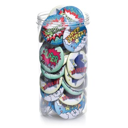 Bucket of Buttons - Super Student
