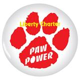 Custom Button - Red Paw Power