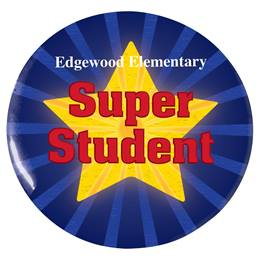 Custom Button - Super Student/Star