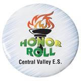 Custom Button - Honor Roll/Torch