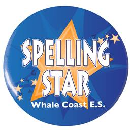 Custom Button - Spelling Star