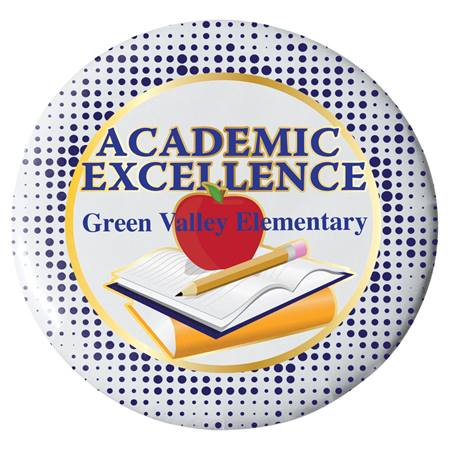 Custom Button - Academic Excellence