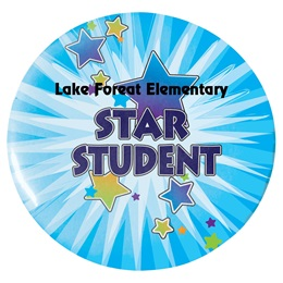 Custom Button - Star Student