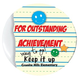 Custom Button - Outstanding Achievement