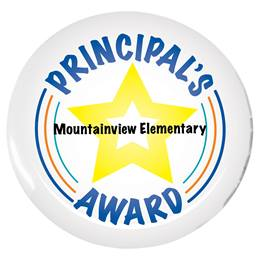 Custom Button - Principal's Award