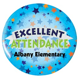 Custom Button - Excellent Attendance
