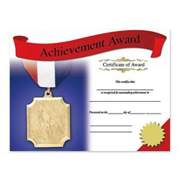 Photo Certificates - Achievement Award