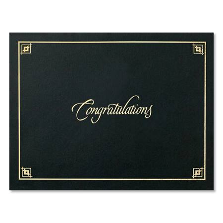 Black Congratulations Certificate Holder  AndersonS