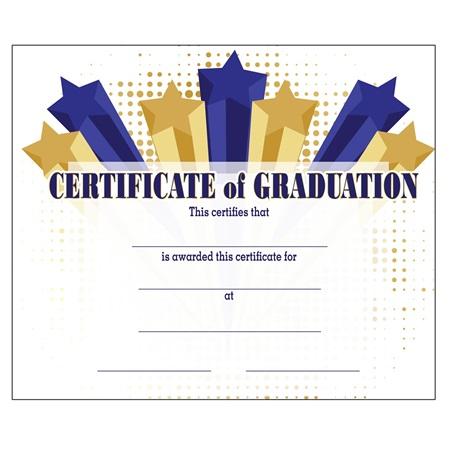 Elementary School Graduation Certificates   Anderson\'s