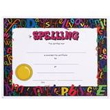 Full-color Spelling Certificates