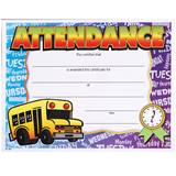 Full-color Attendance Certificates