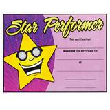 Full-color Star Performer Certificates