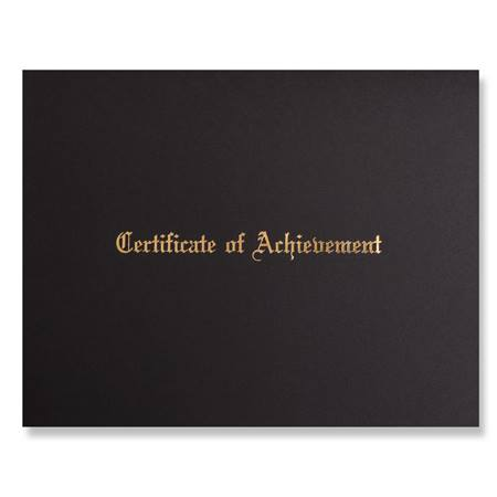 Certificate Holder - Certificate of Achievement