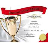 Photo Certificates - Student of the Month