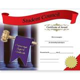 Photo Certificates - Student Council