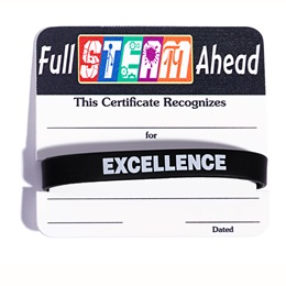 Certificate/Wristband Set - Full STEAM Ahead
