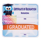 Mini Certificate/Wristband Set - Graduation Owl