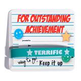 Mini Certificate/Wristband Set - Outstanding Achievement