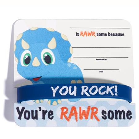 Mini Certificate/Wristband Set - You're RAWRsome