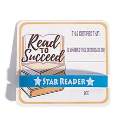 Mini Certificate/Wristband Set - Read to Succeed