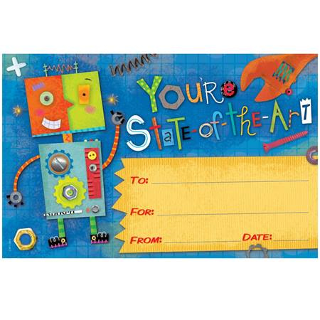 Celebration Cards - You're State of the Art Robot