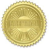 Certificate Seals - Gold Excellence