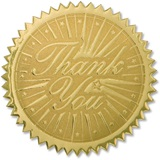 Certificate Seals - Gold Thank You