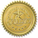 Gold Foil Seals - Outstanding Quality