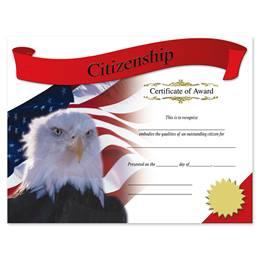 Photo Certificates - Citizenship