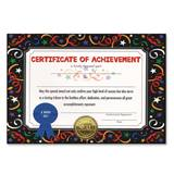 Standing Certificate - Certificate of Achievement