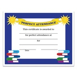 Perfect Attendance Certificate Pack