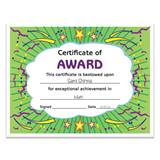 Award Certificate Pack