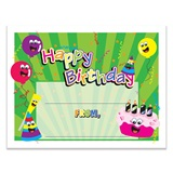 Birthday Party Certificates Pack
