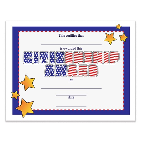 award certificate letterhead zazzle
