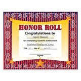 Honor Roll Regal Certificates Pack