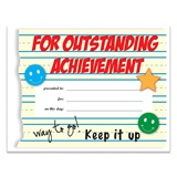 Outstanding Achievement Certificates Pack