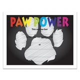 Paw Power Chalkboard Certificates Pack
