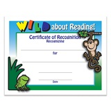 Wild About Reading Certificate Pack